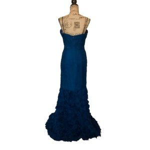 JS Collections Dresses - JS Collections Navy Formal Gown Sz 12